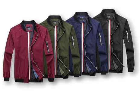 bluapparel - Mens bomber jacket choose your colour and size - Save 56%