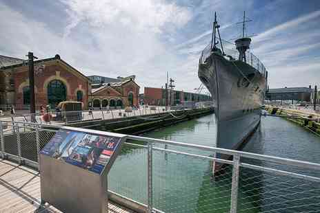 HMS Caroline - Child or student ticket explore the must see floating historic museum - Save 40%