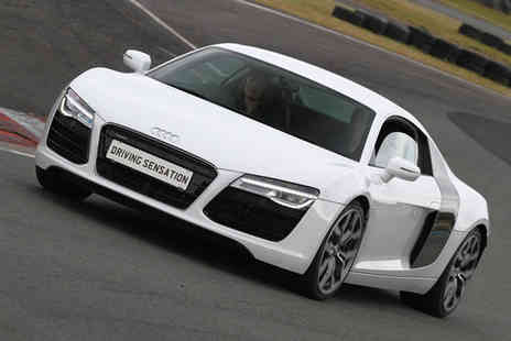 Driving Sensation - Subaru Impreza STI, Lotus Elise, Audi R8 or Porsche 911 supercar driving experience for one - Save 35%