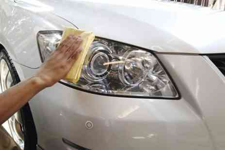 Peter Gibbs Car Body Repairs - Headlight Restoration and Repair Service - Save 50%