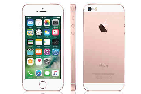 The iOutlet - iPhone SE Rose Gold 32GB Unlocked - Save 31%
