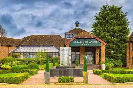 Stratford Manor - Luxury spa day with two ELEMIS treatments and cream tea for one person - Save 0%