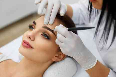 Semi Permanent Makeup - Eyebrow microblading treatment - Save 62%