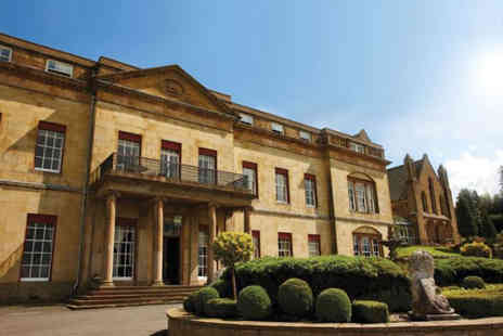 Shrigley Hall Hotel - Overnight Cheshire break for two people with breakfast, a three course dinner each and a bottle of wine - Save 47%