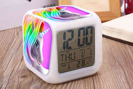 Litnfleek - One unicorn alarm clock - Save 67%