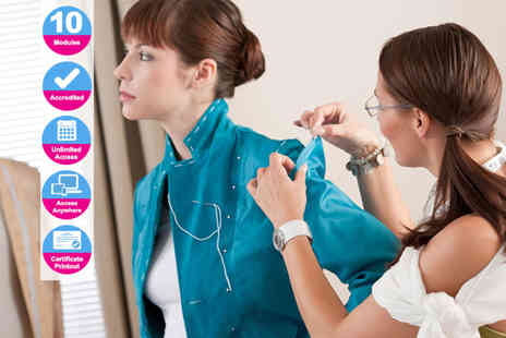 New Skills Academy - Accredited fashion design diploma course - Save 0%
