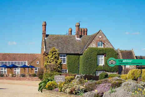 Caley Hall Hotel - Overnight Hunstanton stay for two people with cream tea, breakfast and 12pm late check out - Save 47%