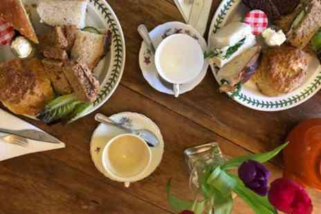 King Johns Nursery - Afternoon Tea with Garden Entry for Two or Four - Save 26%