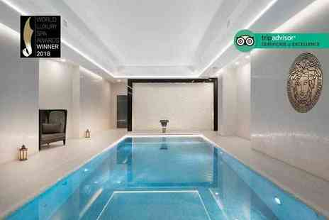 M By Montcalm - Spa experience for one person including three treatments, two hour spa access, a glass of bubbly and a £10 voucher to spend on further treatments - Save 54%