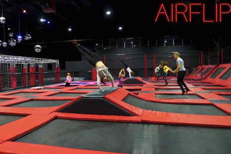 AirFlip - Two hour bounce session for one - Save 59%