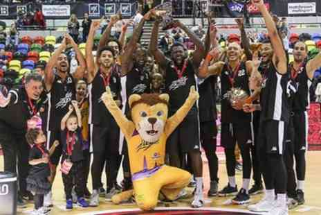 London Lions Basketball - One premium adult or family ticket to see a London Lions against Surrey Scorchers basketball match on 23 November - Save 53%