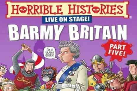 Apollo Theatre - Tickets to see Horrible Histories Barmy Britain Pt 5 - Save 0%