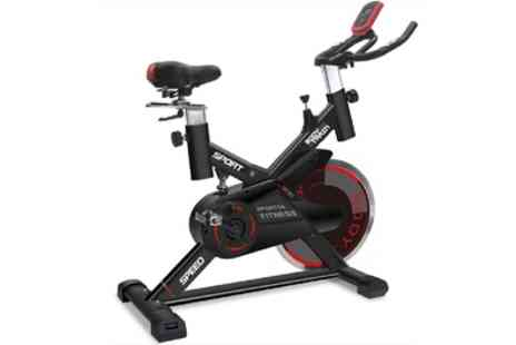 Groupon Goods Global GmbH - Bodytrain Racer Exercise Bike with 18kg Flywheel With Free Delivery - Save 48%