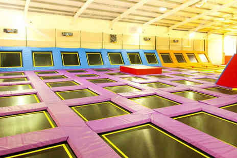 Sky High Trampoline Park - Two hour bounce session for one - Save 60%