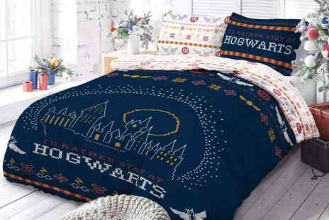 Five Minutes More - Harry Potter Christmas break bedding set Available in 2 Sizes - Save 73%