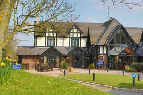 BEST WESTERN The Gables Hotel - 1 to 3 Nights Two with Breakfast, Wine and Optional Dinner - Save 0%