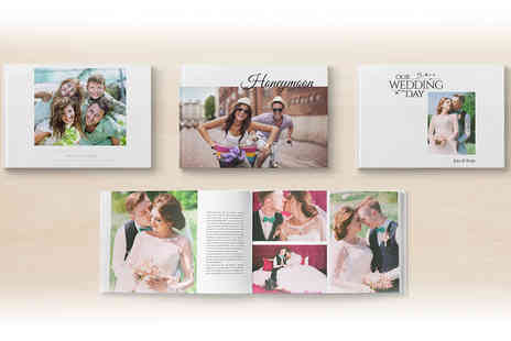 Printerpix - Hard cover photobook choose from A4 and A5 options - Save 82%