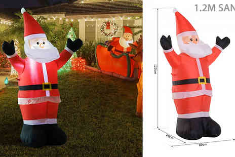 Mhstar - Inflatable Christmas Decoration Choose from 4 Designs - Save 55%
