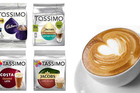 Express Coffee Retail - Tassimo Coffee Pods 70 Flavours - Save 63%