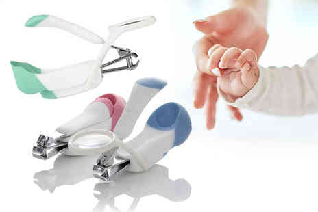 SecretStorz - Baby magnifying glass nail clippers - Save 80%