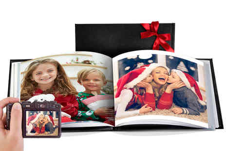 Printerpix - A5 leather cover photobook - Save 73%