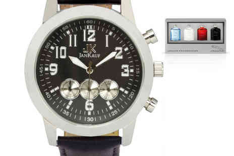 Jan Kauf - Luxury mens JK1035 watch - Save 84%