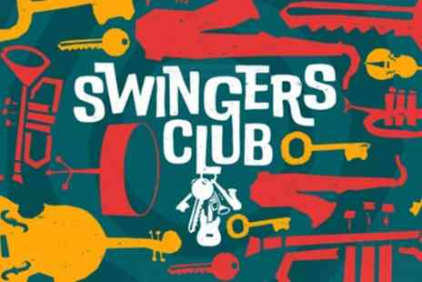 Camp And Furnace - Two tickets to Swingers Club with a glass of bubbly each and an optional sharing platter on 22 November - Save 31%