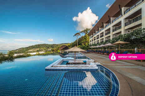 Great Pacific Travels - Four Star 10 nights Phuket getaway with breakfast, deluxe ocean facing room, daily massage, daily cocktail and return flights - Save 31%