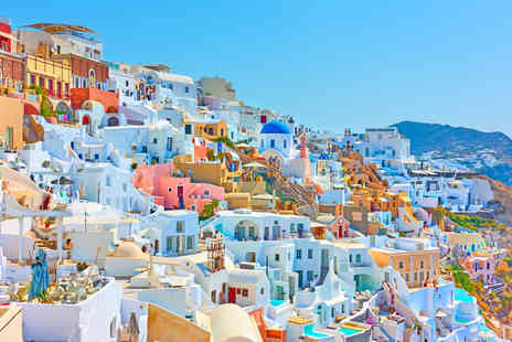 Weekender Breaks - Five nights Athens and Santorini getaway with ferry transfer and flights - Save 29%