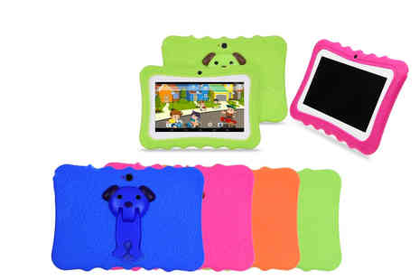 Domosecret - 7 Inch quadcore tablet with case choose from four colours - Save 81%
