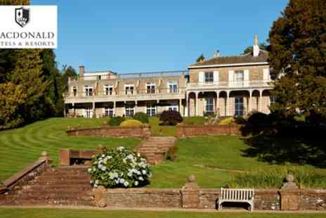 Macdonald Leeming House - Traditional or Festive Afternoon Tea for Two or Four - Save 40%