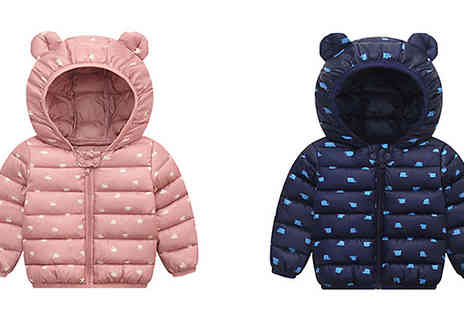 J Star Direct - Kids Cute Teddy Bear Coat Choose from 8 Colours and 5 Sizes - Save 50%