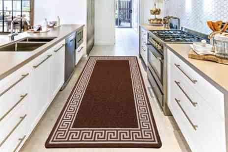 Groupon Goods Global GmbH - Non Slip Gel Back Door Entrance Mats in Choice of Colour and Size - Save 80%