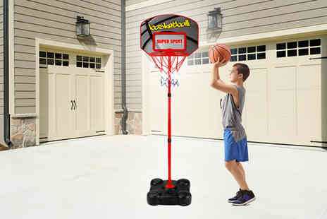 Eurotrade - Kids basketball hoop set shoot some hoops - Save 61%