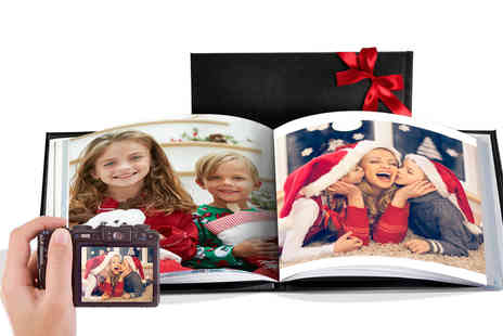 Printerpix - Personalised leather photobook - Save 75%
