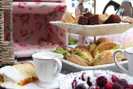 Dr Chocs Windsor Chocolate Factory - Chocolate Afternoon Tea with Optional Prosecco for Two or Four - Save 0%