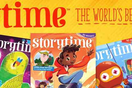 LUMA CREATIVE - Storytime Magazine Gift Subscription 6 Months of Wonderful Stories - Save 67%