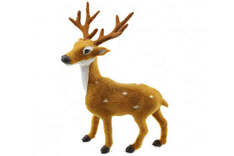 My Blu Fish - Christmas Reindeer Ornament Available in 4 Sizes - Save 75%