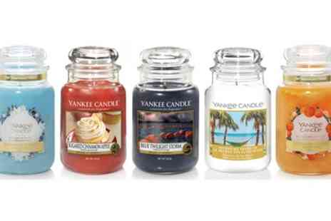 Groupon Goods Global GmbH - Yankee Candle Large Jar Selection - Save 0%