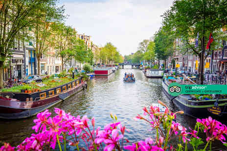 Travel Center - Four Star Escape with a two, three or four nights getaway to Amsterdam Now with the ability to choose your flight - Save 0%