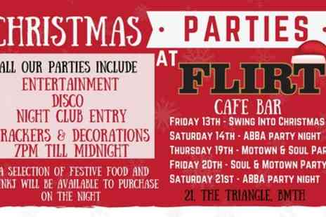 Christmas Fair - One ticket to a choice of Christmas party from 13th To 21st December - Save 0%