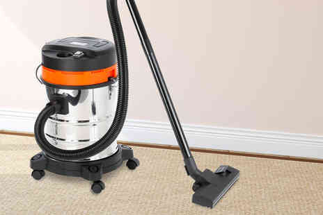 Eurotrade - 25 litre wet and dry vacuum cleaner - Save 68%