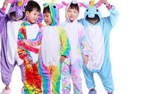 HONGKONG HUALIANDA - Kids unicorn onesie choose from six designs - Save 60%