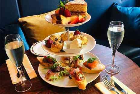 The Last Word Clifton Village - Festive afternoon tea for two with mince pies and a Bellini each - Save 50%