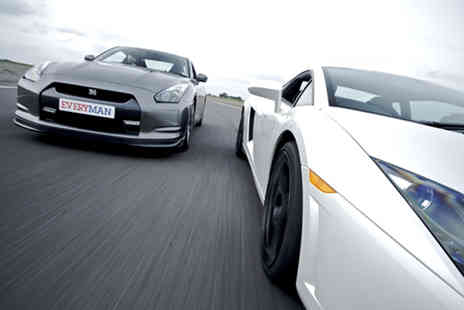 EveryMan Racing - Junior supercar driving experience in one car - Save 63%