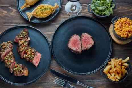 Gaucho - Two Course Meal or Steak with Sides and Sauces to Share for Two - Save 0%