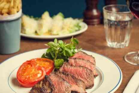 The Cotton Arms - Two Course Meal with Wine for Up to Four - Save 51%