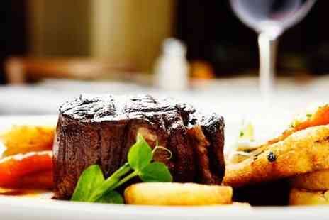The Mash Tun - Two course fillet steak dining with wine or beer for two people - Save 0%