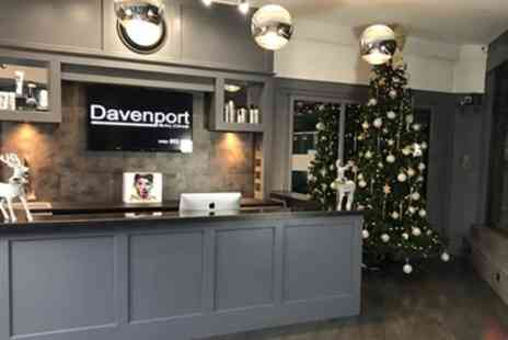 Davenport Salons - Wash, Cut, Blow Dry and Conditioning with Optional Full Head of Highlights - Save 65%