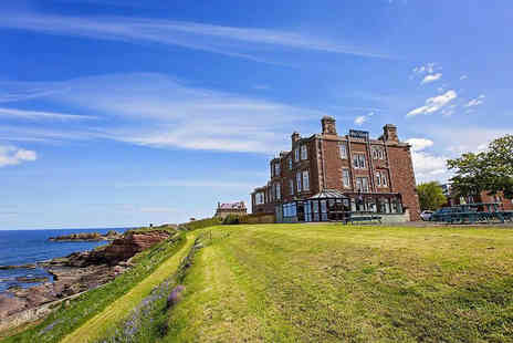 Bayswell Park Hotel - Overnight Dunbar stay for two with bottle of Prosecco, personal hot tub and breakfast - Save 0%